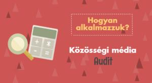 közösségi média audit